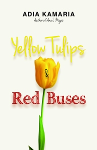 Yellow Tulips & Red Buses
